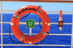 Atlantik 14.04.20 - Karibik nach Mallorca AIDAbella Transatlantik