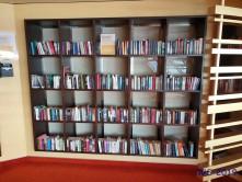 Bibliothek Kiel 19.06.02 - Beste Liegeplätze Ostsee-Kurztour AIDAbella