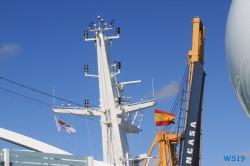 Cádiz 19.10.14 - Von Kiel um Westeuropa nach Malle AIDAbella