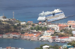 St. George's Grenada 14.04.08 - Karibik nach Mallorca AIDAbella Transatlantik