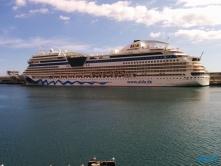 Funchal Madeira 14.11.03 - Mallorca nach Gran Canaria AIDAblu Kanaren
