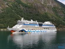 AIDAdiva Geiranger 19.08.07 - Fjorde Berge Wasserfälle - Fantastische Natur in Norwegen AIDAbella