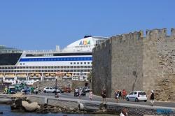 Rhodos 13.07.18 - Türkei Griechenland Rhodos Kreta Zypern Israel AIDAdiva Mittelmeer
