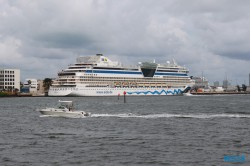 Miami 18.10.07 - Big Apple, weißer Strand am türkisen Meer, riesiger Sumpf AIDAluna
