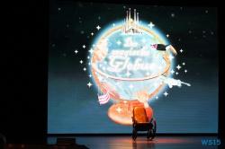 Der magische Globus Mittelmeer 12.11.01 - Tunesien Sizilien Italien AIDAmar Mittelmeer