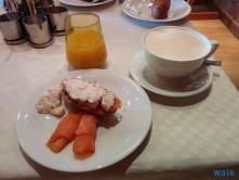 Gold-Frühstück Nordsee 16.03.20 - Eine Runde England Frankreich Holland AIDAmar Metropolen
