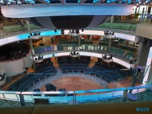 Theatrium Deck 8 19.07.09 - Das größte AIDA-Schiff im Mittelmeer entdecken AIDAnova
