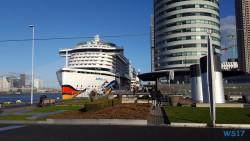 Kop van Zuid Rotterdam 17.01.05 - Jahreswechsel auf der AIDAprima Metropolen