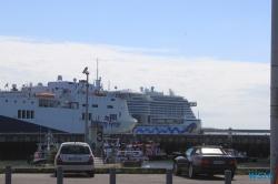 Le Havre 16.07.05 - Das neue Schiff entdecken auf der Metropolenroute AIDAprima