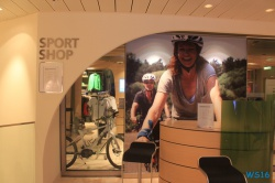 Plaza Sport Shop Deck 7 16.07 - Das neue Schiff entdecken auf der Metropolenroute AIDAprima