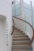 Treppe zum FKK-Bereich Deck 18 16.07 - Das neue Schiff entdecken auf der Metropolenroute AIDAprima