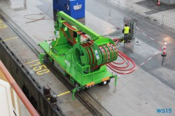 LNG Hybrid Barge Hamburg 15.08.18 - Norwegen Fjorde England Frankreich Spanien Portugal Marokko Kanaren AIDAsol Nordeuropa Westeuropa