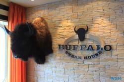 Buffalo Steak House AIDAstella Mittelmeer 16.07.17 - Die kleinen Perlen des Mittelmeers AIDAstella
