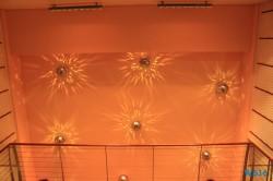 Hinteres Treppenhaus Aidastella Mittelmeer 16.07.24 - Die kleinen Perlen des Mittelmeers AIDAstella