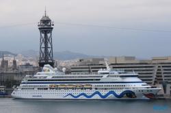 AIDAvita Barcelona 14.09.05 - Tunesien Italien Korsika Spanien AIDAblu Mittelmeer