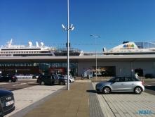 Cruise Center Steinwerder Hamburg 16.03.26 - Eine Runde England Frankreich Holland AIDAmar Metropolen