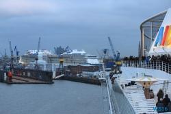 Ovation of the Seas Hamburg 16.03.19 - Eine Runde England Frankreich Holland AIDAmar Metropolen