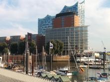 Blick zur HafenCity Hamburg 15.10