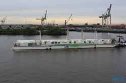 LNG Hybrid Barge Hamburg 15.05.18 - Metropolen England Niederlande AIDAsol Kurzreise
