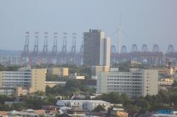 Blick aus dem Hotel Mövenpick Hamburg