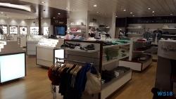 AIDA Shop Deck 9 steuerbord Ostsee 18.08.01 - Eindrucksvolle Städtetour durch die Ostsee AIDAdiva
