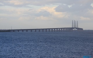 Öresundbrücke Kopenhagen 17.06.25 - Kurztour von Kiel nach Oslo AIDAbella