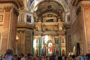 Isaakskathedrale St. Petersburg 18.07.30 - Eindrucksvolle Städtetour durch die Ostsee AIDAdiva