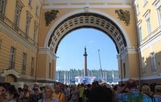 St. Petersburg 18.07.29 - Eindrucksvolle Städtetour durch die Ostsee AIDAdiva