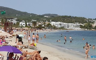 Ibiza 18.07.18 - Strände, Städte und Sonne im Mittelmeer AIDAstella