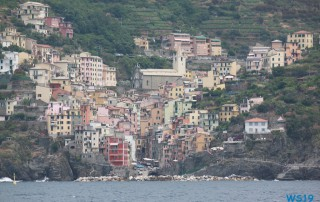 Cinque Terre La Spezia 19.07.08 - Das größte AIDA-Schiff im Mittelmeer entdecken AIDAnova
