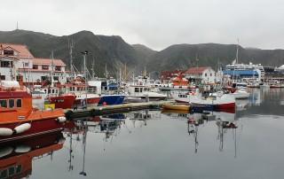 Honnigsvåg 19.08.02 - Fjorde Berge Wasserfälle - Fantastische Natur in Norwegen AIDAbella
