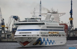 AIDAvita Hamburg 18.04.27 - Kurz in die Nordsee AIDAsol