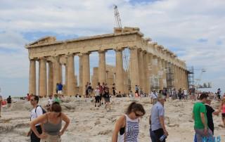 Akropolis Athen 13.07.17 - Türkei Griechenland Rhodos Kreta Zypern Israel AIDAdiva Mittelmeer