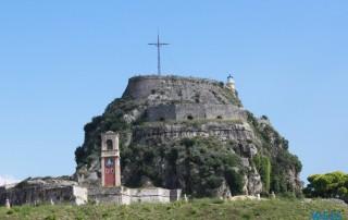 Alte Festung Korfu 16.10.04 - Von Venedig durch die Adria AIDAbella