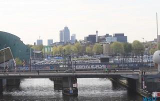 Amsterdam 17.04.19 - Unsere Jubiläumsfahrt von Gran Canaria nach Hamburg AIDAsol Westeuropa