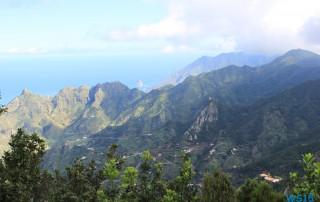 Anaga-Gebirge Santa Cruz de Tenerife Teneriffa 15.10.30 - Zwei Runden um die Kanarischen Inseln AIDAsol Kanaren