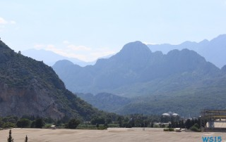 Antalya 13.07.19 - Türkei Griechenland Rhodos Kreta Zypern Israel AIDAdiva Mittelmeer
