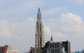 Antwerpen 12.04.04 - Unsere erste Kreuzfahrt AIDAluna Nordeuropa