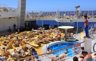 Atlantik 14.04.13 - Karibik nach Mallorca AIDAbella Transatlantik