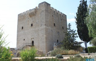 Burg Kolossi Limassol 13.07.20 - Türkei Griechenland Rhodos Kreta Zypern Israel AIDAdiva Mittelmeer