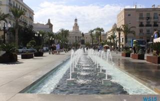 Cádiz 14.10.28 - Mallorca nach Gran Canaria AIDAblu Kanaren