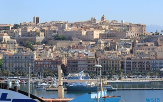 Cagliari Sardinien 14.08.29 - Tunesien Italien Korsika Spanien AIDAblu Mittelmeer