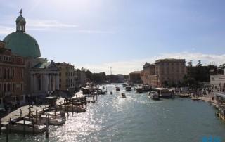 Canal Grande Venedig 16.10.15 - Von Venedig durch die Adria AIDAbella