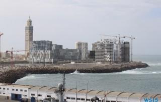 Casablanca 14.10.29 - Mallorca nach Gran Canaria AIDAblu Kanaren