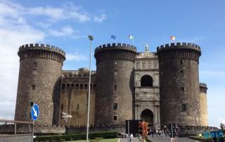 Castel Nuovo Neapel 13.10.11 - Tunesien Sizilien Italien Korsika Spanien AIDAblu Mittelmeer