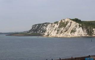 Dover 16.05.16 - Kurztour mit strahlender Sonne ohne das Schiff zu verlassen