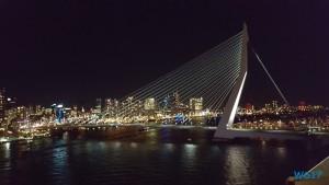 Erasmusbrücke Rotterdam 17.01.05 - Jahreswechsel auf der AIDAprima Metropolen