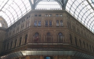 Galleria Umberto I Neapel 14.08.31 - Tunesien Italien Korsika Spanien AIDAblu Mittelmeer