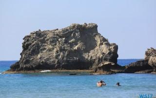 Glifada Strand Korfu 17.10.04 - Historische Städte an der Adria Italien, Korfu, Kroatien AIDAblu