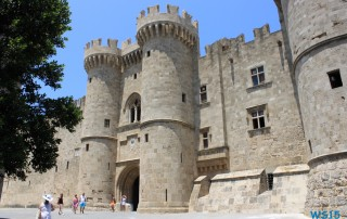 Großmeister-Palast Rhodos 13.07.18 - Türkei Griechenland Rhodos Kreta Zypern Israel AIDAdiva Mittelmeer